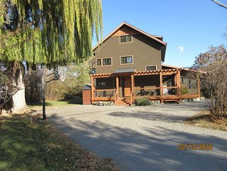 Beach Access Home Near Penticton.  All Bedrooms W/ Ensuite