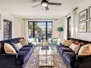 Epic West Beach property - outdoor living, 2 blocks to beach, Funk Zone, pier, h