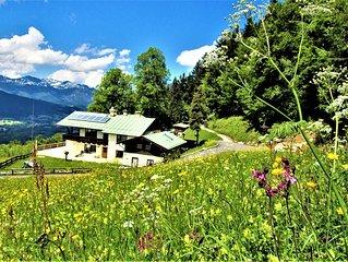 Bergpanorama mit Blick ins Tal 3 für absolute Nichtraucher