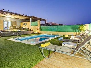 superbe villa de standing aux canaries