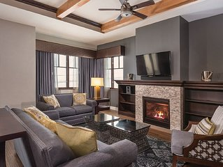 Ski-In Ski-Out 2-Bedroom Luxury Condo at Park City Canyons