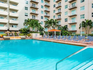 (CD1) #1 Miami Location - 2BR/2BATH Superb Highrise at Mary Brickell Village. (1