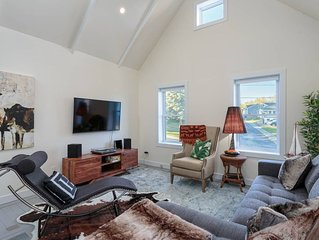 Unique character home, soaring ceilings!