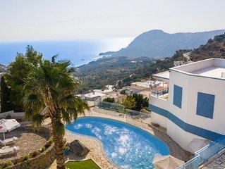 Villa für 16 Personen mit Pool in Sellia auf Kreta