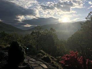Le Grange Rouge, Fresh Mountain Air, Near Asheville