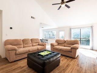 Conveniently located and comfortable 3 bedroom house.