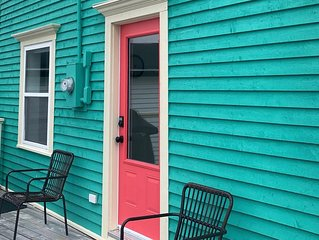 Rookery Cottage located in Historic Battery St. John's - new listing in 2018.