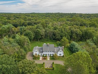 Luxurious Country Estate w/ Office - Pets Welcome - Fully furnished - 1 hr to NY