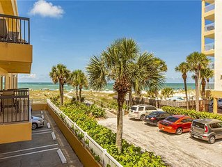 King Suite - Large Living & Dining Area - Full Kitchen - Gulf View Balcony- Free