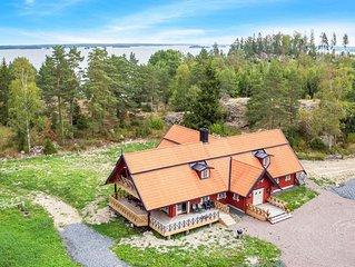 5 Zimmer Unterkunft in Västra Näshulta