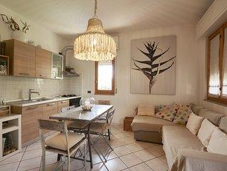 Appartamento doppio 8 posti letto con giardino su 3 lati