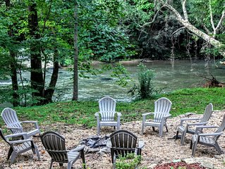 Relax & Unwind at the Chestatee River Retreat! Dog Friendly & Near Wineries