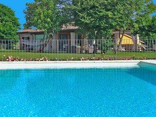 Casa privata con piscina, wi-fi, animali ammessi, aria condizionata, Marche