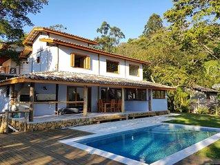 Linda casa no Piuva para ate 10 pessoas a 600 metros da praia Ilha das cabras.