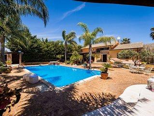 Fantastica Villa Naiadi in affitto in Sicilia da My Rental Homes