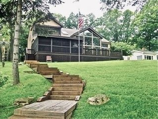 Beautiful Lakefront Home Minutes from Lake Geneva