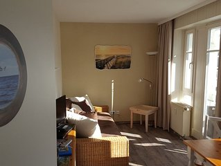 'Kajute 1'  kleine  Ferienwohnung in Ostseenahe in Sellin, WLAN gratis