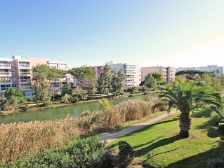 Appartement T3 - 4 personnes - Piscine residence - Climatisation - WiFi - Sainte