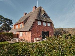 Ferienhaus unter Reet Süderhörn List / Sylt
