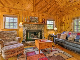 NEW! Secluded Cabin Between Boone & Blowing Rock!
