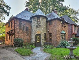 NEW! Castle-Style House ~1 Mi To Univ. of Toledo!