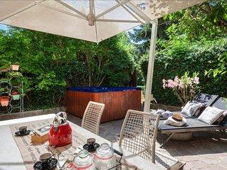 Ferrara Elegant Garden Villa con Jacuzzi x8!