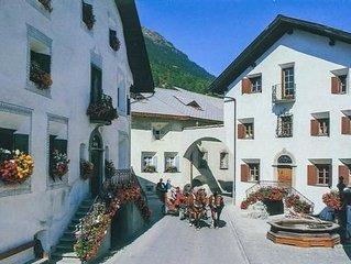 Ferienwohnung Bever für 6 Personen mit 2 Schlafzimmern - Historisches Gebäude