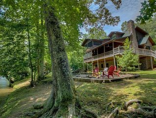 Come on Inn- Riverfront Home | Screened Porch | Outdoor Fire Pit