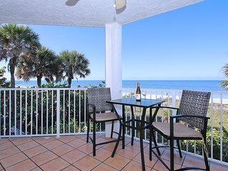 Beautiful Beachfront 3BR/2BA - Balconies overlooking Gulf & Intracoastal