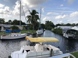 Boater's Delight! Optional boat rental from the backyard. Great home & fishing!