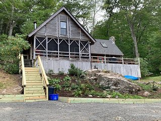 Lakeside 3 BR Cabin in Boothbay Harbor