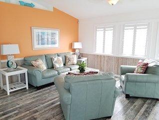 Pure Paradise, 3 Bedroom, 2 Bath, Ocean View Home, Sun Deck, Fenced Yard