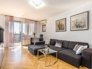 City View Apartment Rijeka, 5 people, balcony, free WiFi, great location