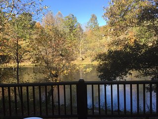 Beautiful Hiwassee River Retreat located in The Great Smoky Mountains