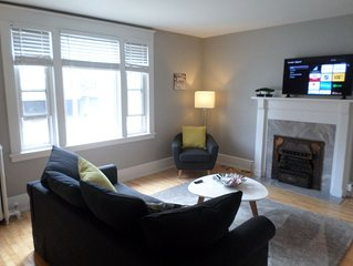 Beautiful,Clean,Quiet 2 BR,In Downtown Ottawa.Parking, WiFi and Netflix included