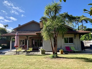 Grande et Belle Maison Calme au Centre du Cap Ferret