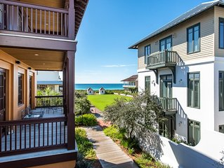 Located in the heart of Rosemary Beach on the Southside of 30A! Gulf Views!