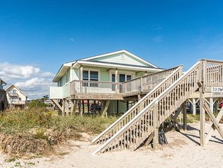 Absolute Beach: 4 Bed/2 Bath Oceanfront Home