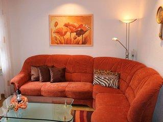 Ferienwohnung mit 73qm, 2 Schlafzimmer für max. 5 Personen