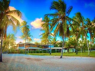 Paraiso em Frente ao Mar, a poucos metros da vila da Praia do Forte