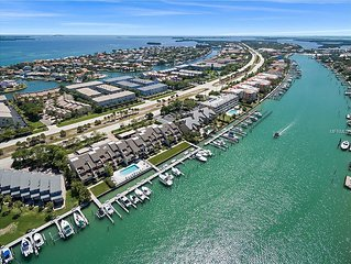 Waterfront in Tierra Verde on Grand Canal with Amazing Views from 3/3 with Pool