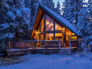 Dog-friendly chalet w/great views & sauna, near the slopes