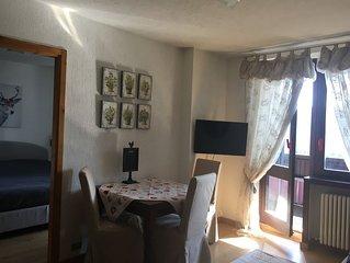 Luminoso appartamento nel centro di Sestriere