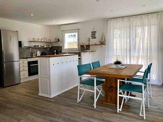 Bel appartement en rez-de-jardin à 100m des plages - idéal pour famille