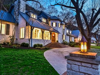 Luxury French Country w/ Lake Austin Boat Dock