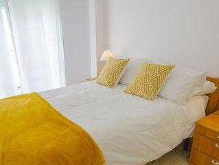 Apto 1 dormitorio en el centro de Cartagena, con Wifi y parking. Pet Friendly