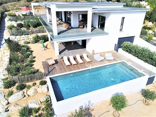 Villa de luxe avec piscine a Porticcio tres belle vue mer sur le Golfe d'Ajaccio