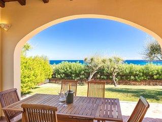 Traumhafte Ferienwohnung mit Meerblick - Villa Nina