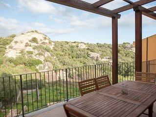 Am Stadtrand mit Balkon und Blick ins Grüne - Casa Cristina