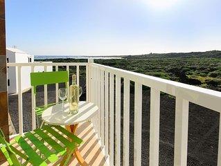 Romantisches Apartment mit Balkon, Panoramablick und WLAN; in der Nahe der Lagun